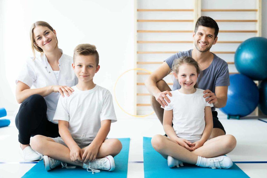 yoga en famille avec enfants