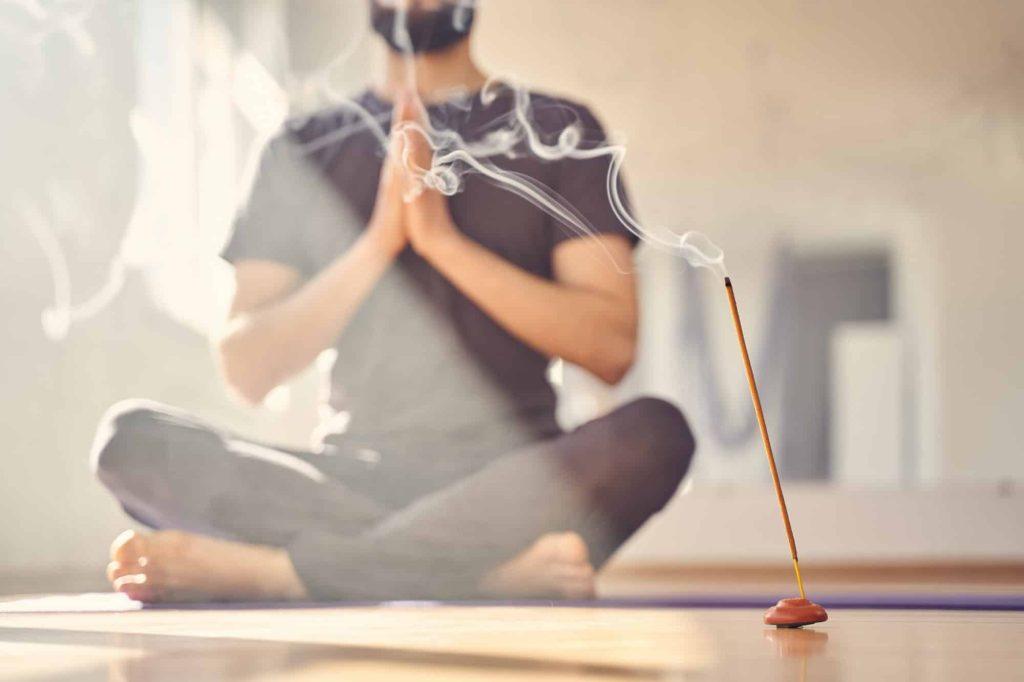 encens yoga
